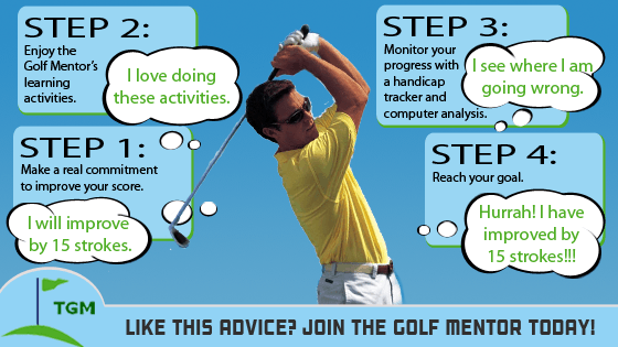 How to improve at Golf